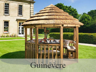 Guinevere Luxury Wooden Gazebo