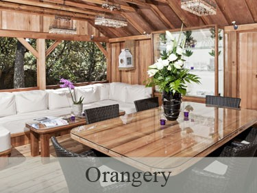 Orangery Luxury Wooden Gazebo
