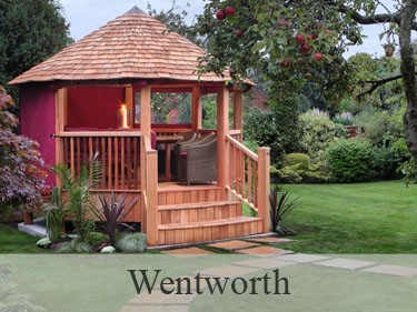 Wentworth Luxury Wooden Gazebo