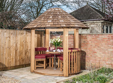 Rose Luxury Wooden Gazebo