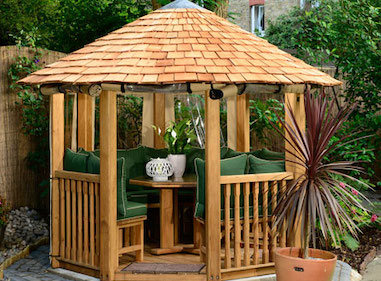 Tudor Luxury Wooden Gazebo