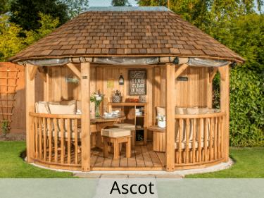 Ascot Luxury Wooden Gazebo