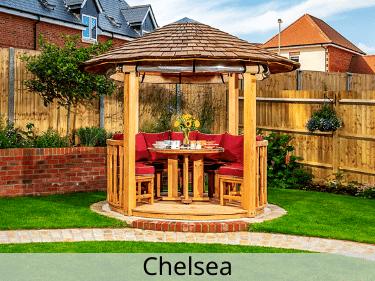 Chelsea Luxury Wooden Gazebo