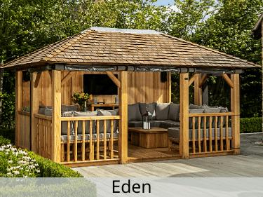 Eden Luxury Wooden Gazebo