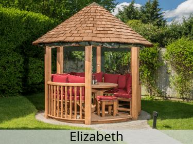 Elizabeth Luxury Wooden Gazebo