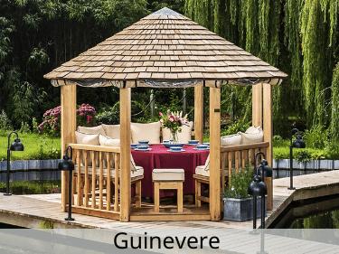 Guinevere Luxury Wooden Gazebo