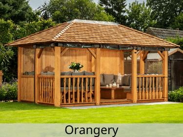 Orangery Luxury Wooden Gazebo