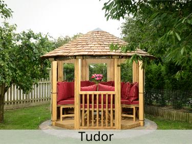 Tudor Luxury Wooden Gazebo