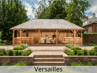 Versailles Luxury Wooden Gazebo
