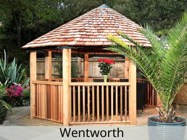 Wentworth Luxury Wooden Gazebo