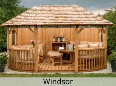 Windsor Luxury Wooden Gazebo