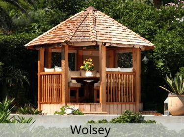 Wolsey Luxury Wooden Gazebo